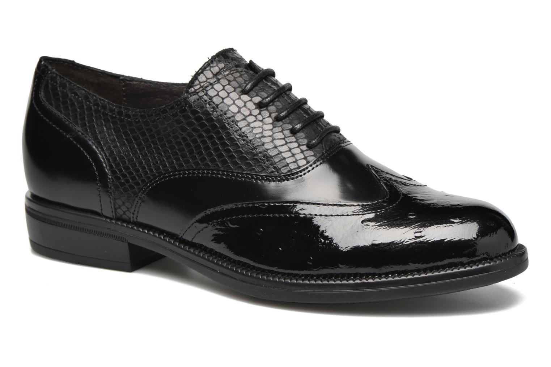 Chaussures à lacets Stonefly Clyde 14 Noir vue détail/paire