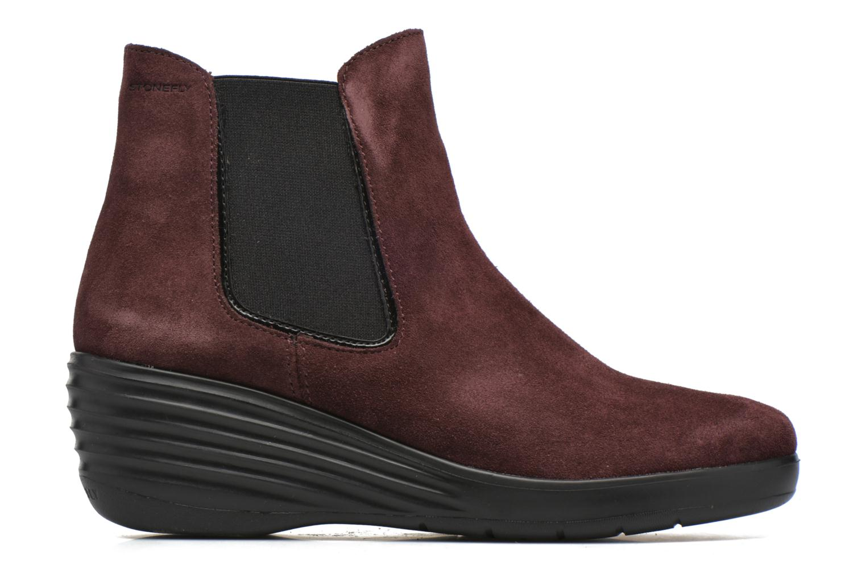 Ankle boots Stonefly Ebony 20 Burgundy back view