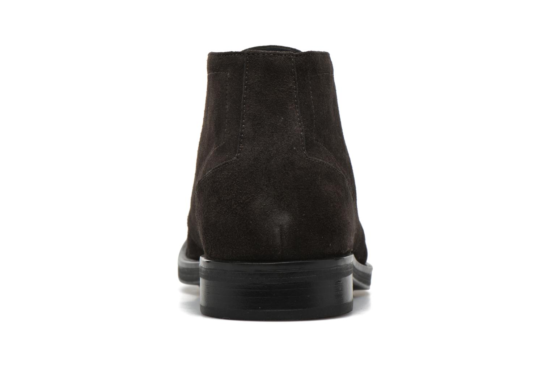 Zapatos con cordones Stonefly Class 11 Gris vista lateral derecha