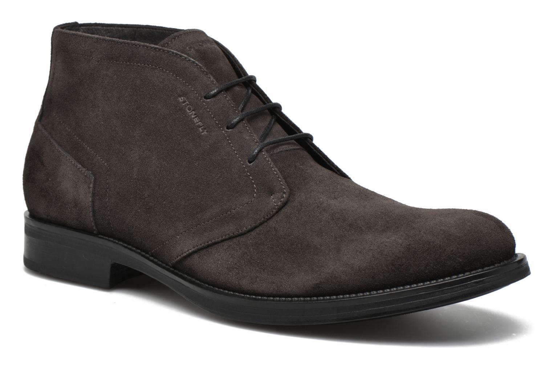 Zapatos con cordones Stonefly Class 11 Gris vista de detalle / par