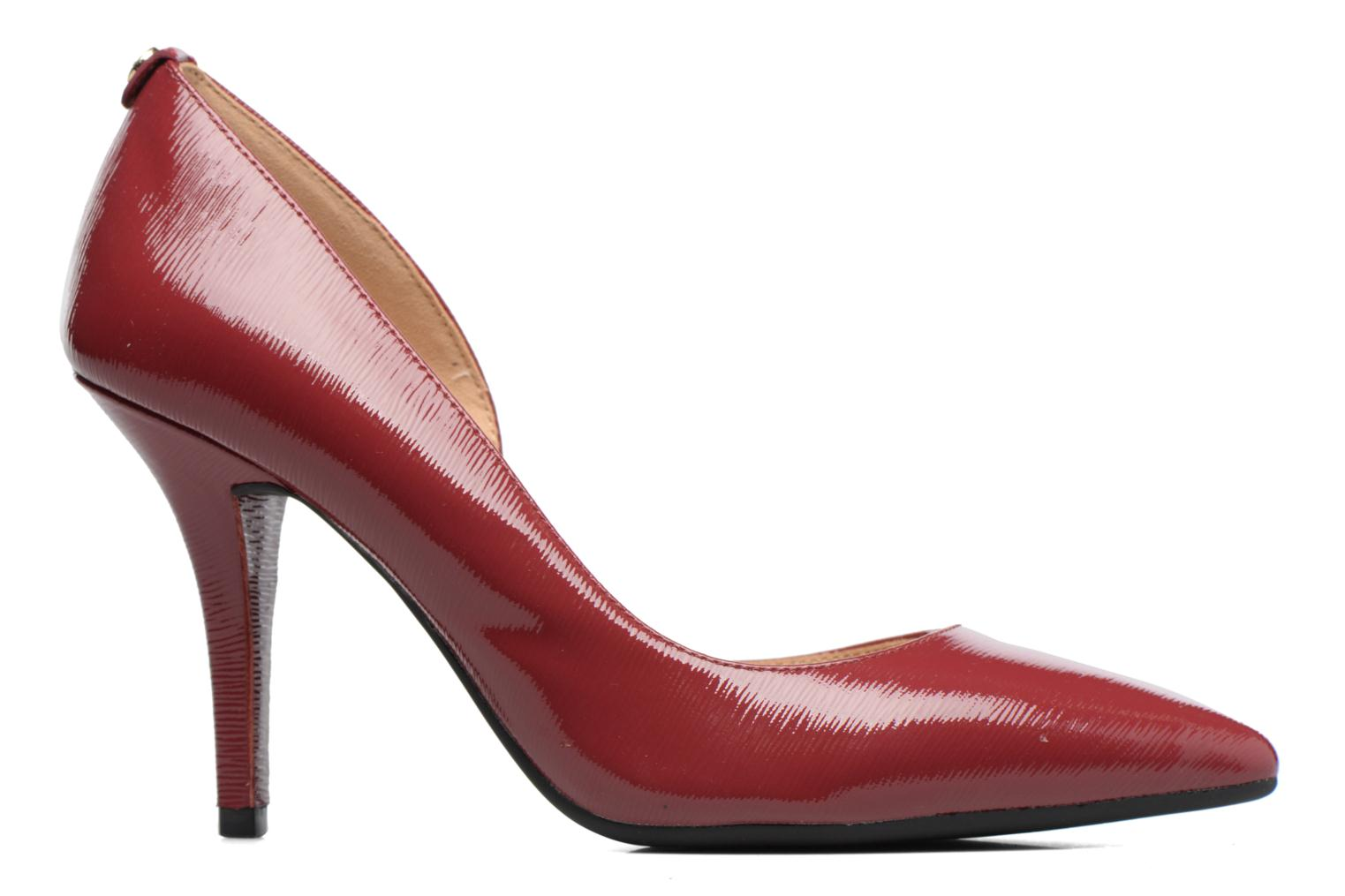 Escarpins Michael Michael Kors Nathalie Flex High Pump Bordeaux vue derrière