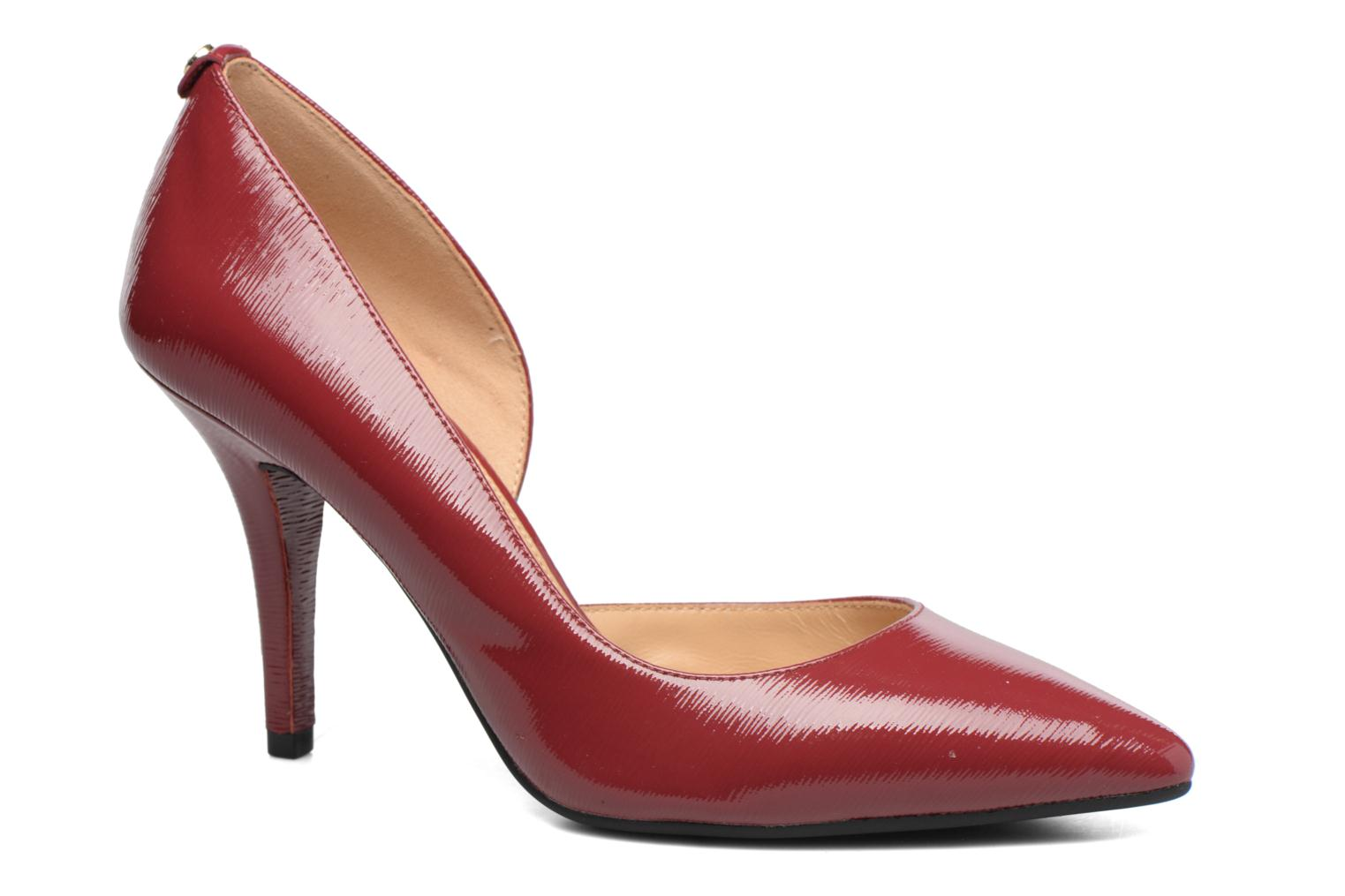 Escarpins Michael Michael Kors Nathalie Flex High Pump Bordeaux vue détail/paire