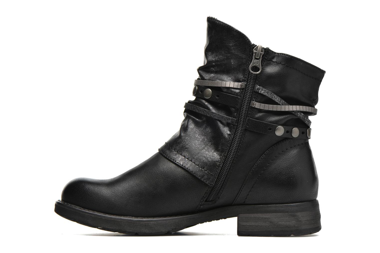 Bottines et boots Tom Tailor Laure Noir vue face