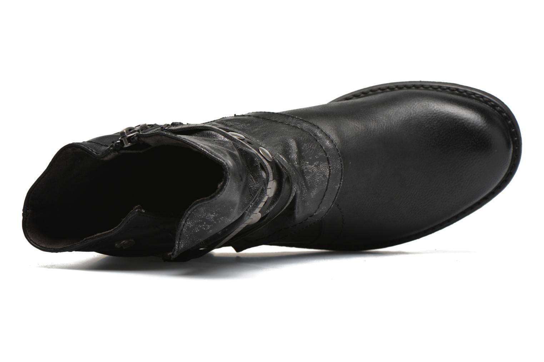 Bottines et boots Tom Tailor Laure Noir vue gauche