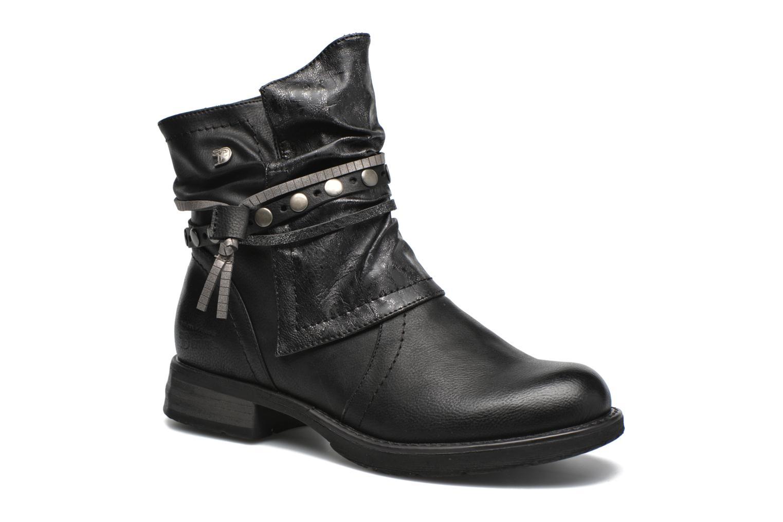 Bottines et boots Tom Tailor Laure Noir vue détail/paire