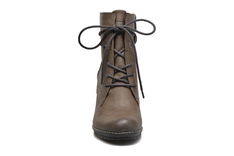 Bottines et boots Tom Tailor Hanna Marron vue portées chaussures