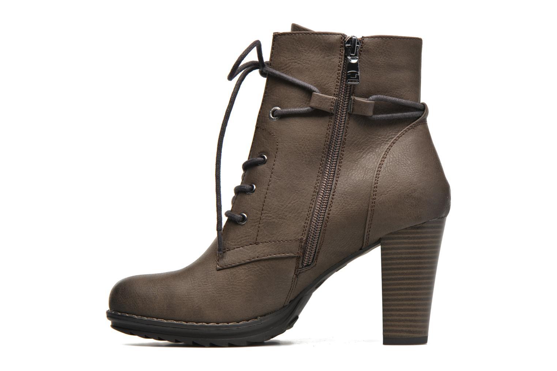 Stiefeletten & Boots Tom Tailor Hanna braun ansicht von vorne