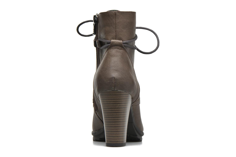 Bottines et boots Tom Tailor Hanna Marron vue droite