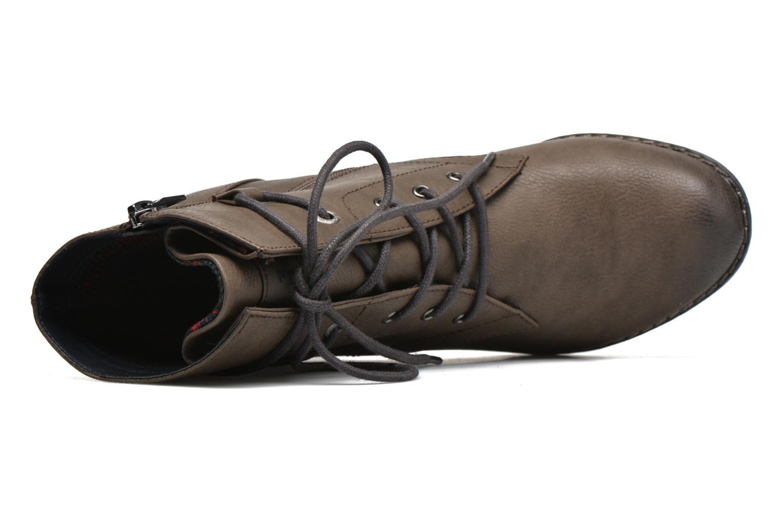 Stiefeletten & Boots Tom Tailor Hanna braun ansicht von links