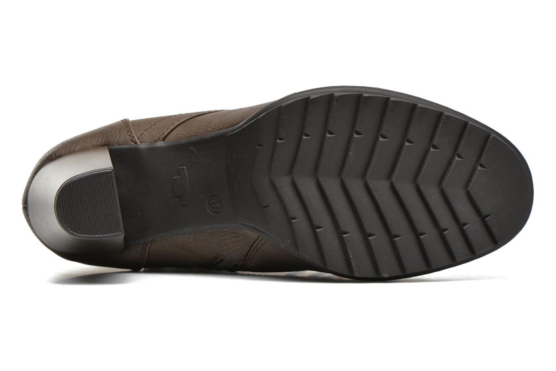 Stiefeletten & Boots Tom Tailor Hanna braun ansicht von oben