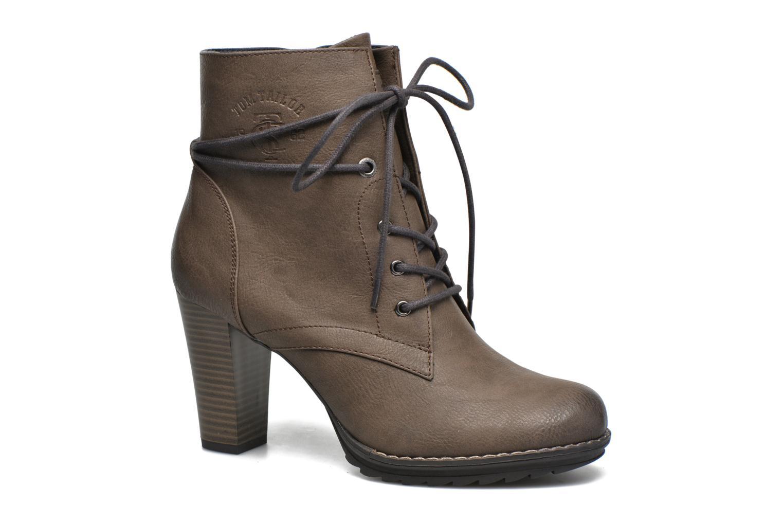 Bottines et boots Tom Tailor Hanna Marron vue détail/paire