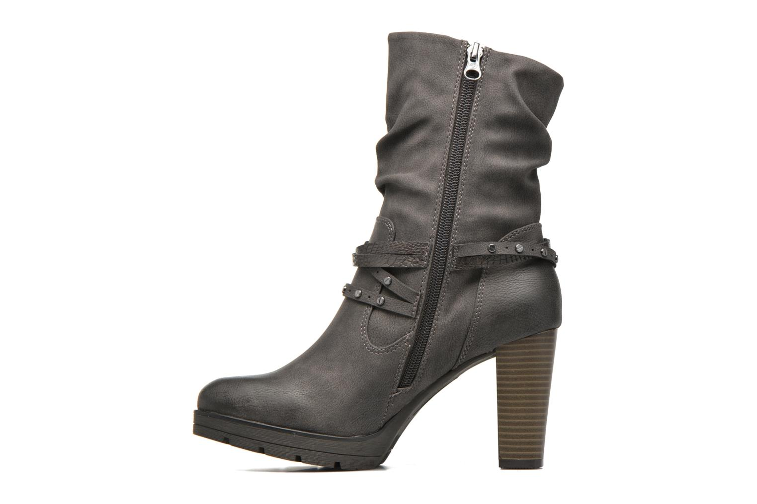 Ankle boots Tom Tailor Lucie Grey front view