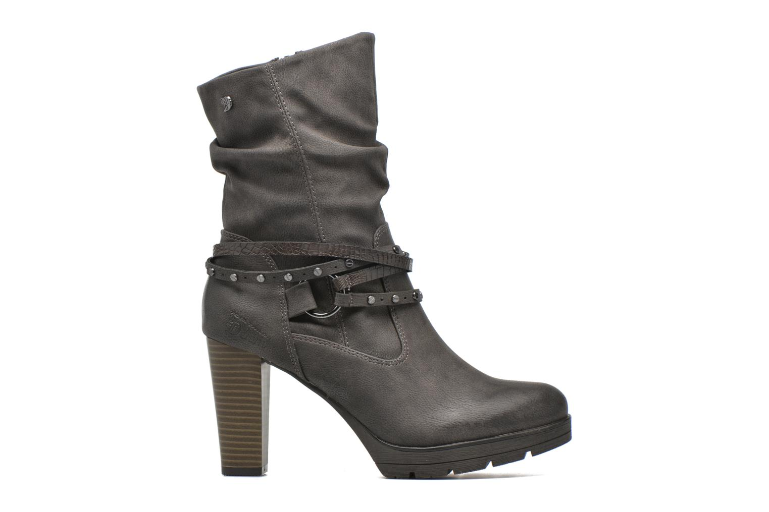 Ankle boots Tom Tailor Lucie Grey back view
