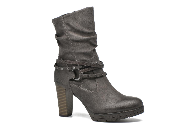 Bottines et boots Tom Tailor Lucie Gris vue détail/paire