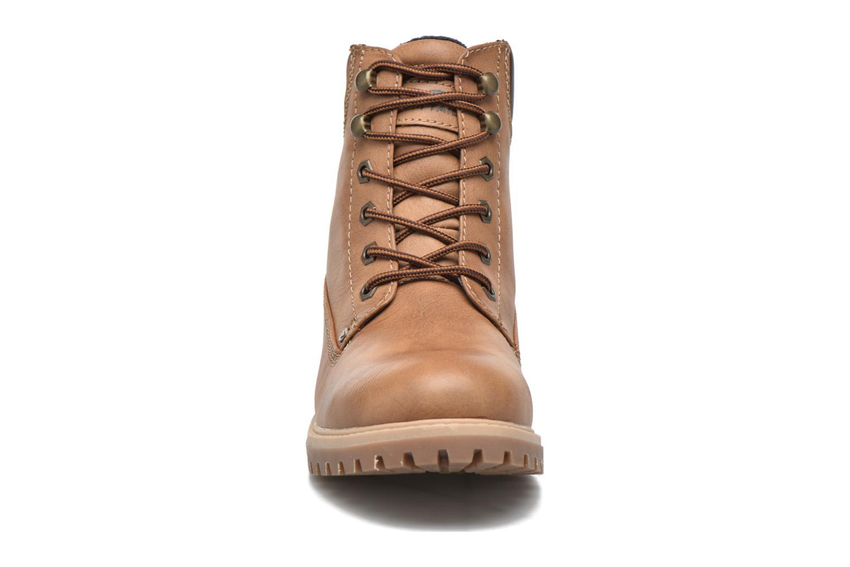 Chaussures à lacets Tom Tailor Inès Marron vue portées chaussures