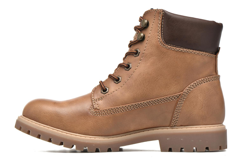 Chaussures à lacets Tom Tailor Inès Marron vue face