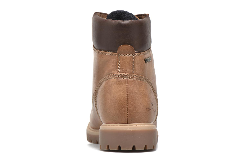 Chaussures à lacets Tom Tailor Inès Marron vue droite