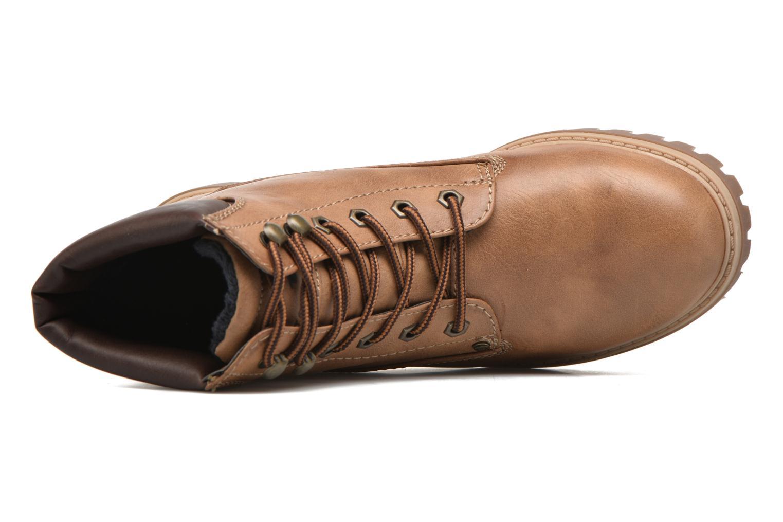 Chaussures à lacets Tom Tailor Inès Marron vue gauche