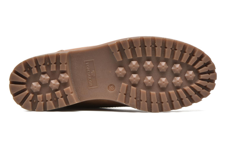 Chaussures à lacets Tom Tailor Inès Marron vue haut