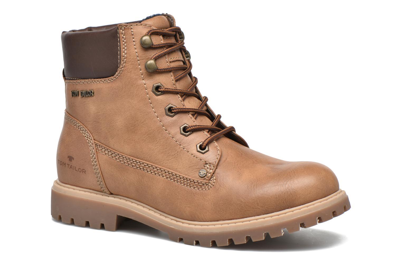 Chaussures à lacets Tom Tailor Inès Marron vue détail/paire
