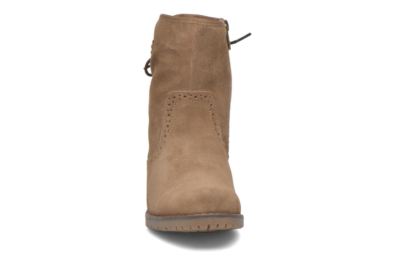 Bottines et boots Tom Tailor Margaux Marron vue portées chaussures