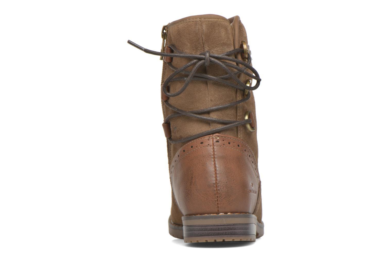 Bottines et boots Tom Tailor Margaux Marron vue droite