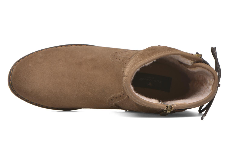 Bottines et boots Tom Tailor Margaux Marron vue gauche