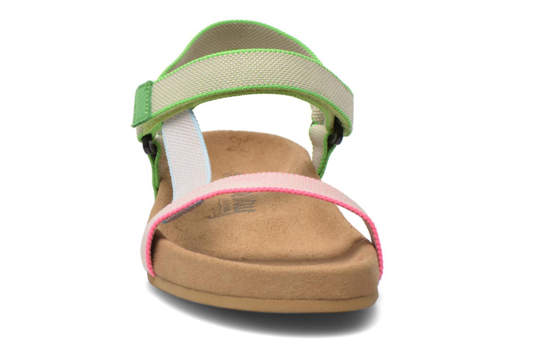 Sandales et nu-pieds Coolway Salto Multicolore vue portées chaussures