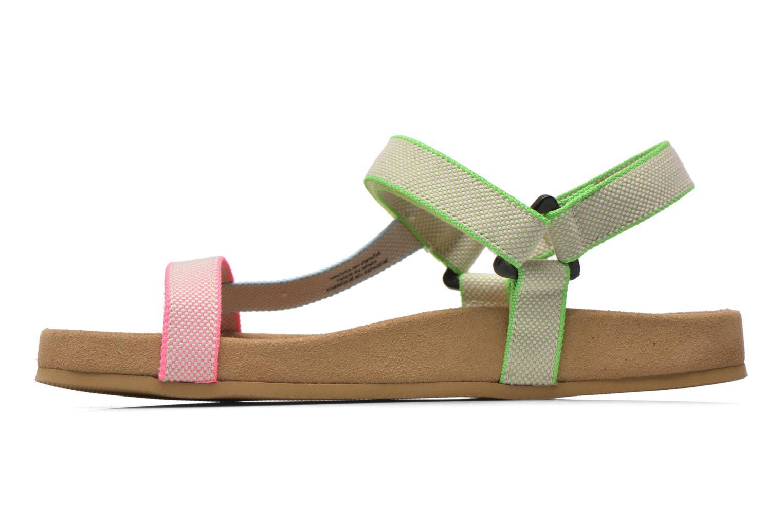 Sandales et nu-pieds Coolway Salto Multicolore vue face