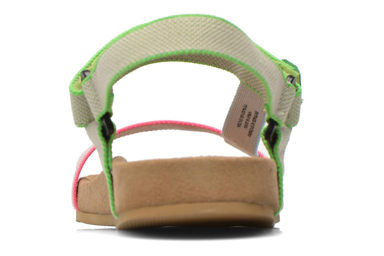 Sandales et nu-pieds Coolway Salto Multicolore vue droite