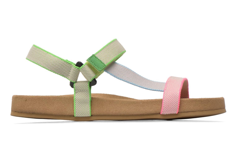 Sandales et nu-pieds Coolway Salto Multicolore vue derrière