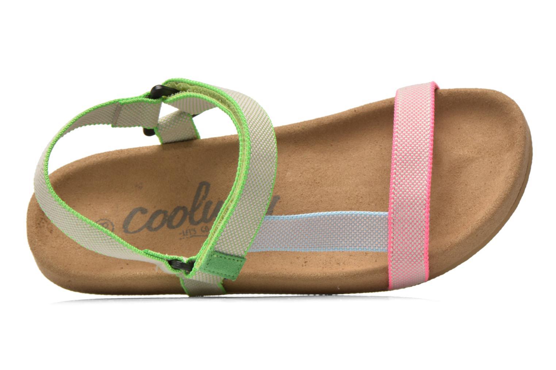 Sandales et nu-pieds Coolway Salto Multicolore vue gauche