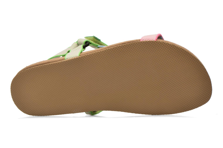 Sandales et nu-pieds Coolway Salto Multicolore vue haut