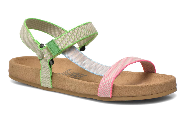 Sandales et nu-pieds Coolway Salto Multicolore vue détail/paire