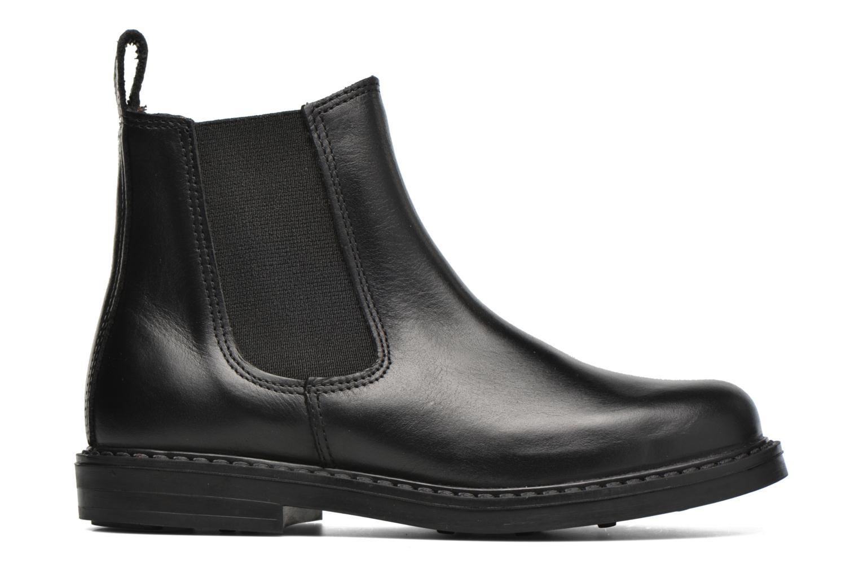 Bottines et boots Aigle Shetland Zip Noir vue derrière