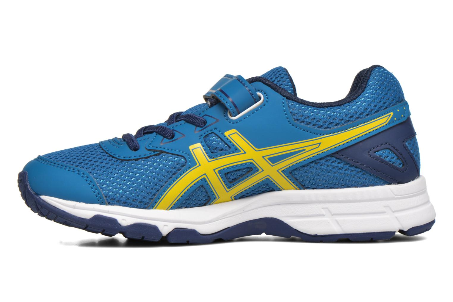 Sport shoes Asics Pre Galaxy 9 PS Blue front view
