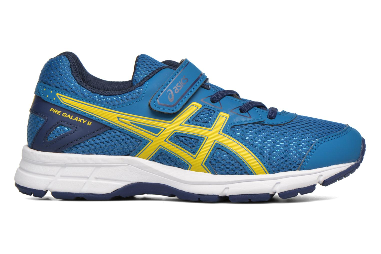 Sport shoes Asics Pre Galaxy 9 PS Blue back view