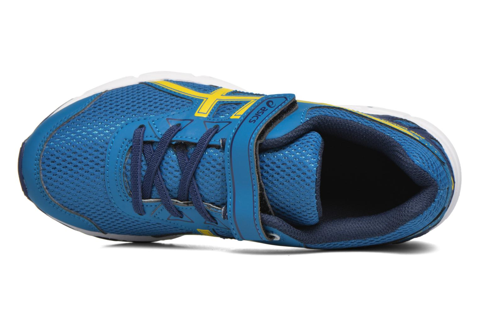 Sport shoes Asics Pre Galaxy 9 PS Blue view from the left