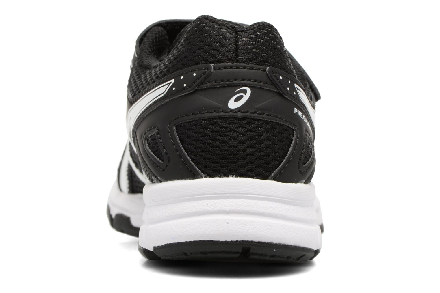 Sport shoes Asics Pre Galaxy 9 PS Black view from the right