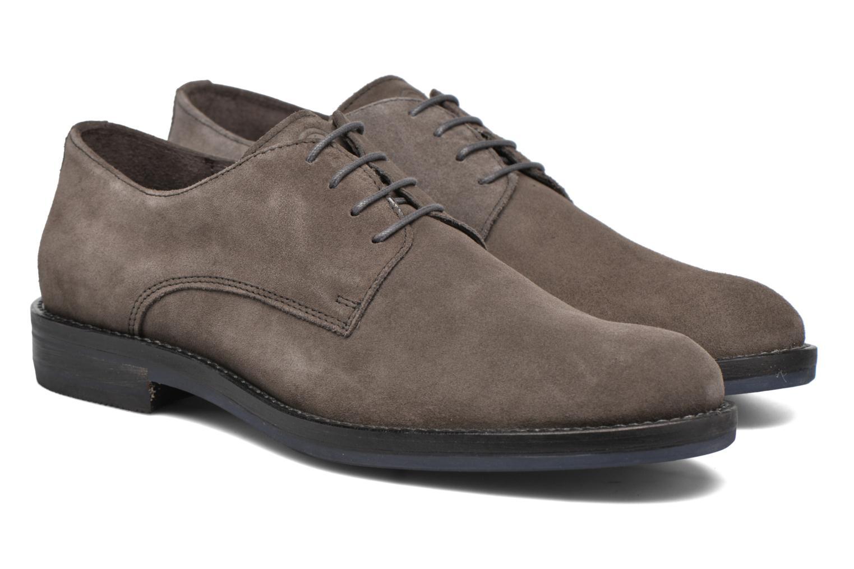 Chaussures à lacets Mr SARENZA Nills Marron vue derrière