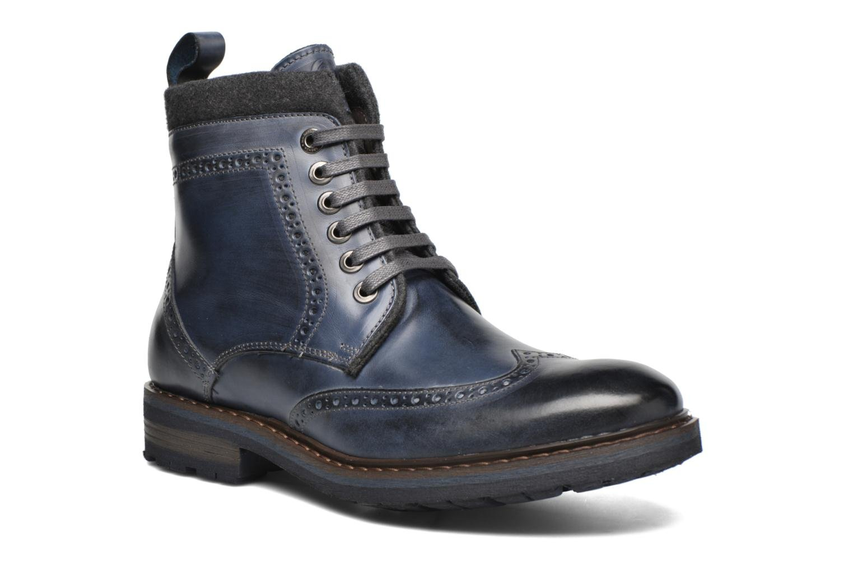 Bottines et boots Mr SARENZA Newyork Bleu vue droite