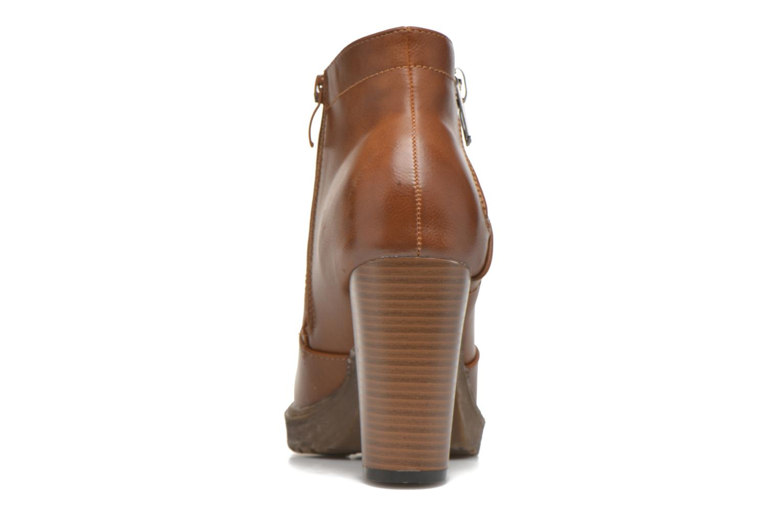 Ankle boots Eclipse Bottine Leo Brown view from the right
