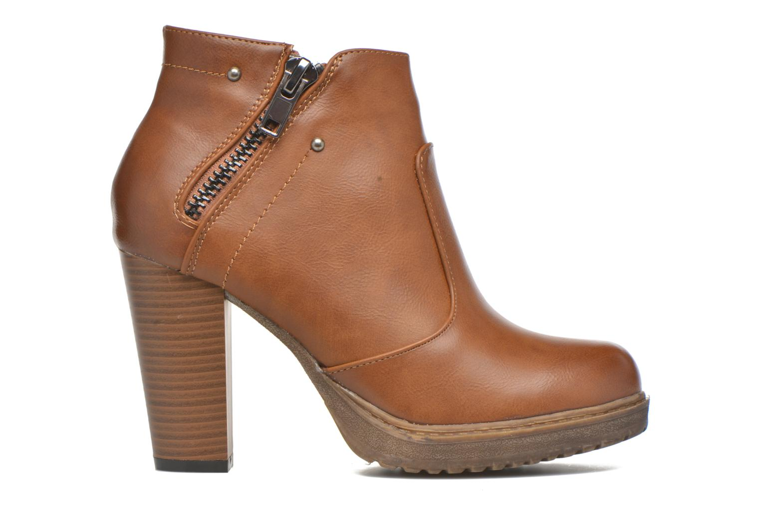 Ankle boots Eclipse Bottine Leo Brown back view