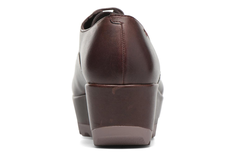 Chaussures à lacets Camper Laika K200289 Bordeaux vue droite