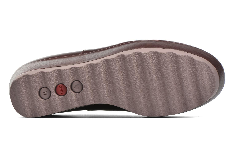 Chaussures à lacets Camper Laika K200289 Bordeaux vue haut