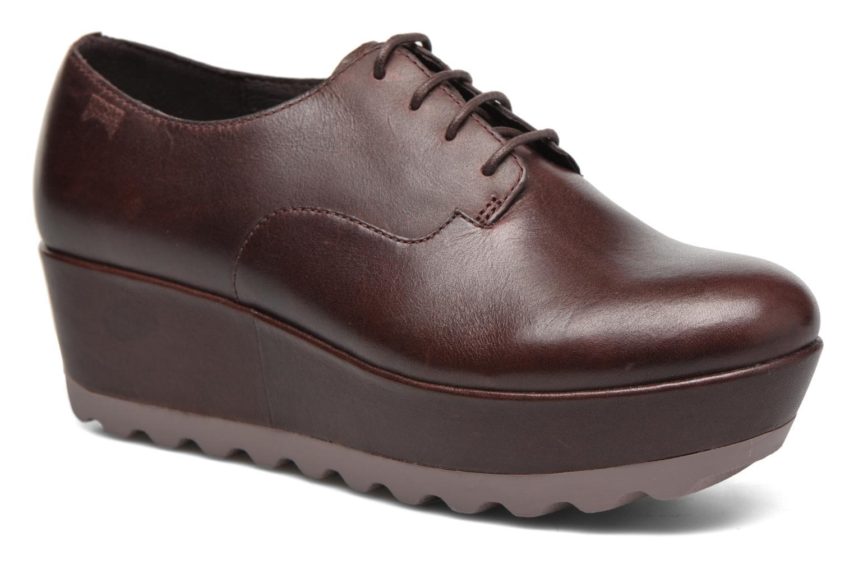 Chaussures à lacets Camper Laika K200289 Bordeaux vue détail/paire