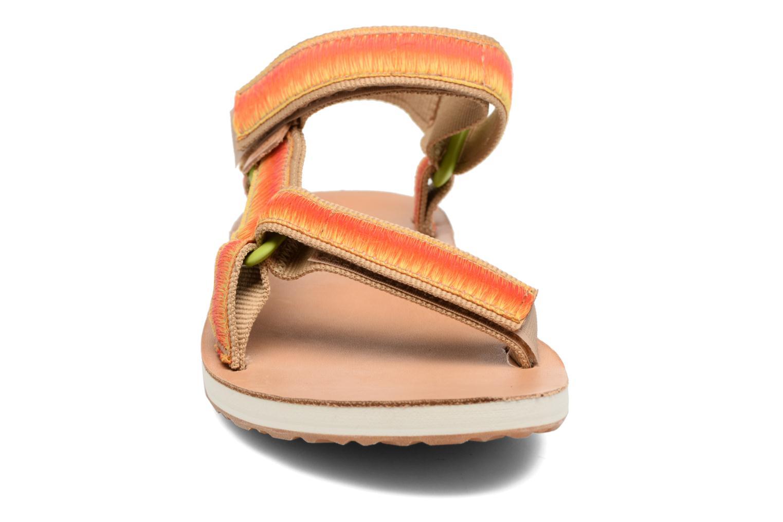 Sandales et nu-pieds Teva Original Universal Ombre Orange vue portées chaussures