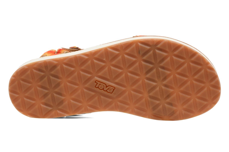 Sandales et nu-pieds Teva Original Universal Ombre Orange vue haut