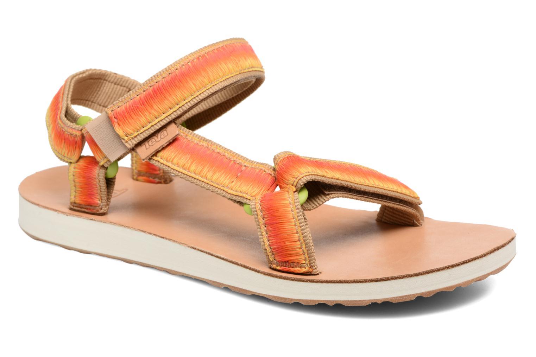 Sandales et nu-pieds Teva Original Universal Ombre Orange vue détail/paire