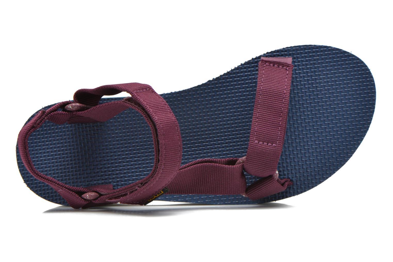Sandales et nu-pieds Teva Flatform Universal Retro Violet vue gauche